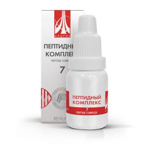 Пептидный комплекс ПК-07 для поджелудочной железы