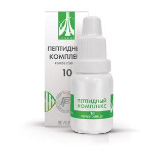 Пептидный комплекс ПК-10 для женской половой системы