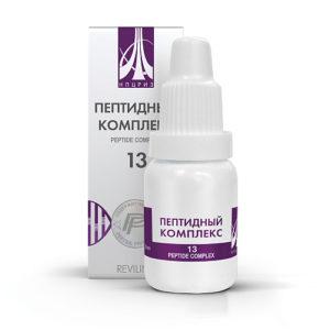 Пептидный комплекс ПК-13 для кожи