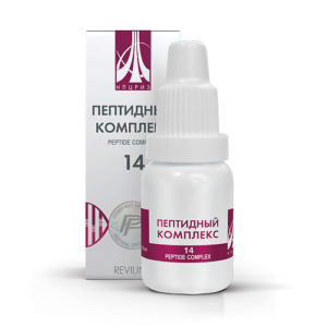 Пептидный комплекс ПК-14 для вен