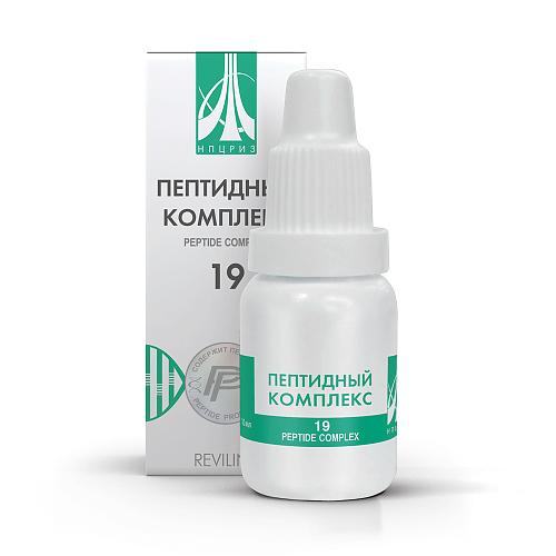 Пептидный комплекс ПК-19 для метеозависимых и кардио.больных